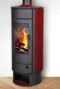 poele a buche ofen 4 lorflam rotatif po les bois chauffage au bois mcz charnwood atout flam. Black Bedroom Furniture Sets. Home Design Ideas